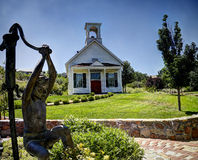 Kleine Kirche in Reno, Nevada lizenzfreie stockfotos