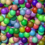 Kleine kleurrijke ballonstextuur Royalty-vrije Stock Foto