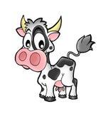 Kleine koe stock illustratie