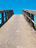 Kleine konkrete Brücke Stockfotografie