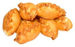 Kleine kornische Pasteten Stockfoto
