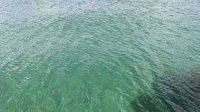 Kleine Kräuselungen auf Oberfläche des Michigansees Illinois stock video