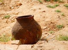 Kleine kruik op straat in Bagan, Myanmar Royalty-vrije Stock Fotografie