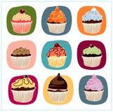 Kleine Kuchen stock abbildung