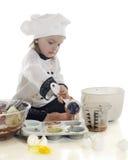 Kleine Kuchen des kleinen Bäckers Stockfotografie