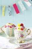 Kleine Kuchen in einem Cup. Lizenzfreie Stockfotografie