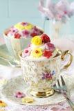 Kleine Kuchen in einem Cup. Stockfotografie