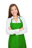 Kleine Ladenbesitzerfrau Lizenzfreie Stockbilder