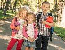 Kleine leerlingen status stock fotografie
