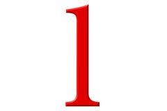 Kleine letter L, op wit wordt geïsoleerd, met het knippen van weg, 3D IL dat Stock Foto's