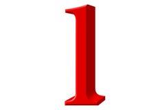 Kleine letter L, op wit wordt geïsoleerd, met het knippen van weg, 3D IL dat Stock Foto