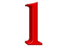 Kleine letter L, op wit wordt geïsoleerd, met het knippen van weg, 3D IL dat Royalty-vrije Stock Fotografie