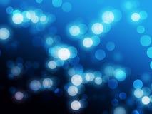 Kleine Leuchteunschärfen Lizenzfreie Stockbilder