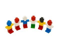 Kleine Leute Lego Lizenzfreie Stockfotos