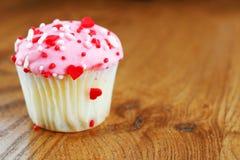 Kleine liefde cupcake Stock Foto's