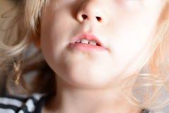 Kleine Lippen Stockfotos