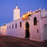 Kleine lokale Moschee Stockbild