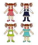 Kleine Mädchen Lizenzfreie Stockfotos