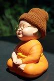 Kleine Mönch-Porcelain-Puppe Lizenzfreie Stockfotografie