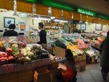 Kleine Markt Stock Fotografie