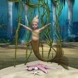 Kleine Meerjungfrau Stockbild
