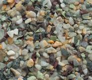 Kleine mehrfarbige Steine Stockfotografie