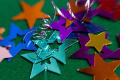 Kleine mehrfarbige Sterne Lizenzfreies Stockfoto