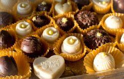 Kleine met de hand gemaakte cakes Royalty-vrije Stock Afbeelding