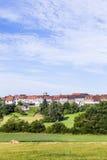 Kleine mittelalterliche Stadt Walsdorf lizenzfreies stockbild