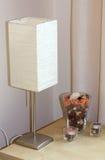 Kleine moderne Lampe Stockbild