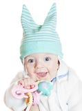 Kleine mooie babyjongen Stock Afbeelding