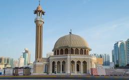 Kleine Moschee, Abu Dhabi, UAE Lizenzfreie Stockfotografie