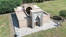 Kleine Moskee in Istanboel Royalty-vrije Stock Fotografie
