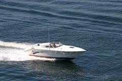 Kleine motorboot Stock Foto