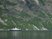 Kleine Noorse veerboot Royalty-vrije Stock Afbeelding