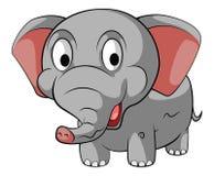 Kleine Olifantsbaby, het Wild, Zoogdieren royalty-vrije illustratie
