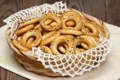 Kleine ongezuurde broodjes Royalty-vrije Stock Afbeeldingen