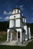 Kleine orthodoxe kerk Stock Afbeeldingen