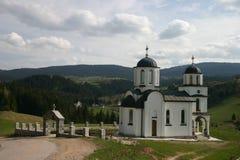 Kleine orthodoxe Kirche Stockfoto
