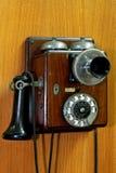 Kleine oude telefoon Royalty-vrije Stock Foto