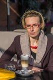 Kleine Pause für Kaffeemilch Lizenzfreie Stockbilder