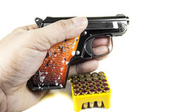 Kleine Pistole 6 35 Millimeter Stockfotografie