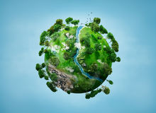 Kleine planeet Stock Fotografie
