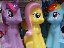 Kleine Ponys Stockfotografie