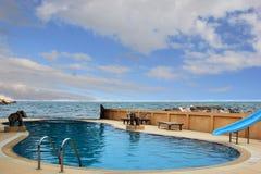 Kleine pool Stock Fotografie