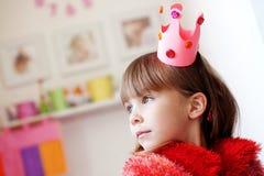 Kleine Prinzessin Stockfoto