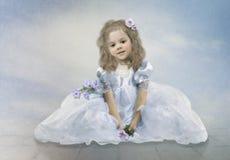 Kleine Prinzessin Stockbild