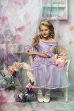 Kleine Prinzessin mit einer Tiara Lizenzfreies Stockbild