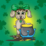 Kleine puppykabouter Royalty-vrije Stock Afbeelding