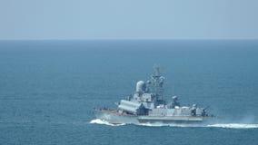 Kleine raketboten Rusland stock videobeelden